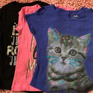 Justice Bundle Shirts